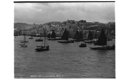 Brixham from the Breakwater.