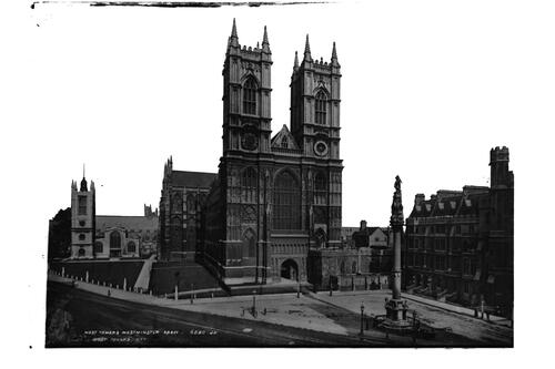 West towers, Westminster Abbey.