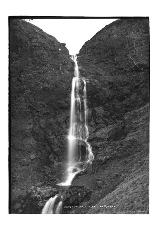 Craighorn Fall, Alva Glen.