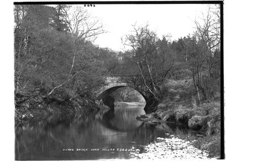 Vicar's Bridge, near Dollar.
