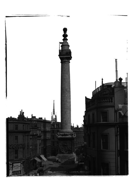 The Monument, London.