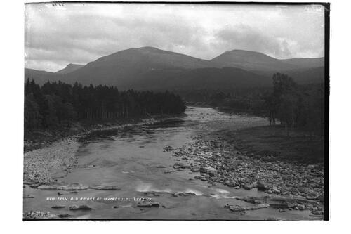 From the bridge of Invercauld.