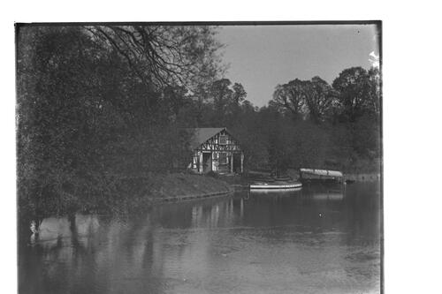 [The Boathouse] Pitville Lake, Cheltenham.