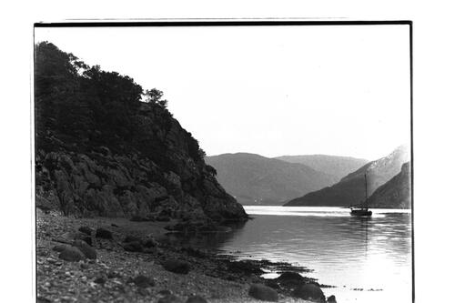Narrows and the [launch] Netta [Loch Leven].