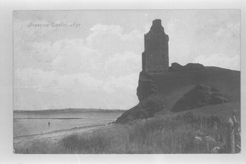 Greenan Castle, Ayr.