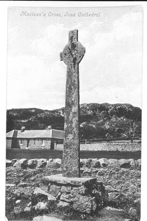 Maclean's Cross, Iona Cathedral.