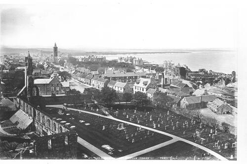 St Andrews from St Rule's Tower.