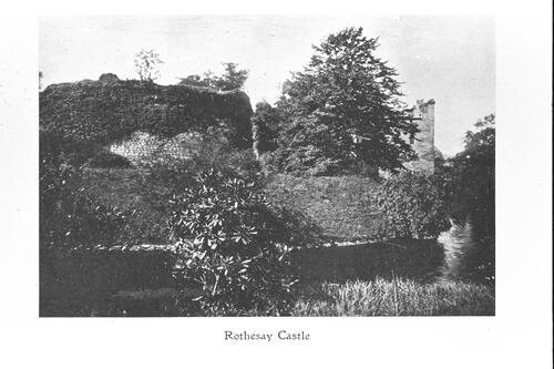 Rothesay Castle.