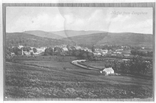Moffat from Langshaw.