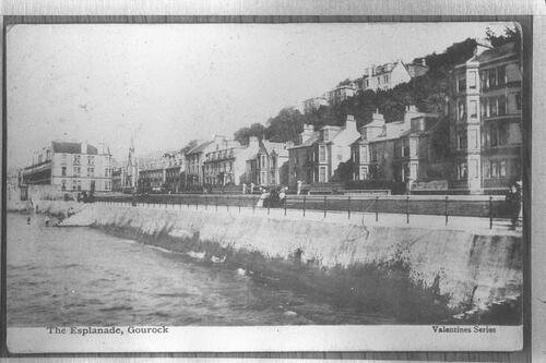 The Esplanade, Gourock.