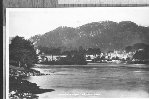 Dunkeld from Terrace Walk.