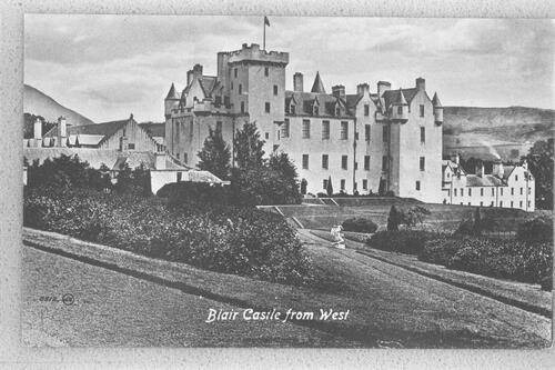 Blair Castle from West.