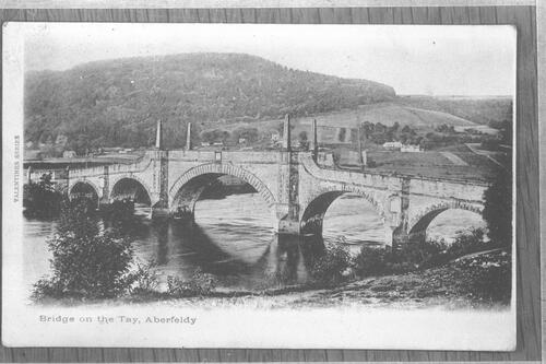 Bridge on the Tay, Aberfeldy.