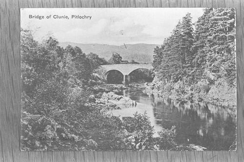Bridge of Clunie, Pitlochry.