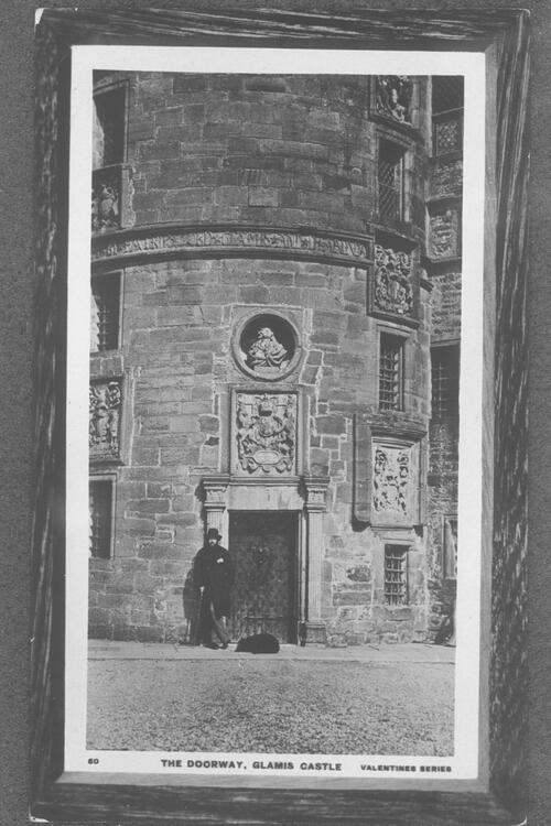 The doorway, Glamis Castle.