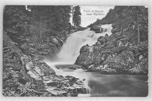 Falls of Muick, near Ballater.