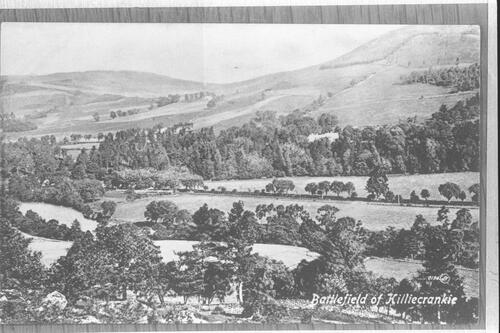 Battlefield of Killiecrankie.