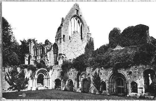 The Cloisters, Dryburgh Abbey.