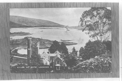 Kyles of Bute. Looking E.