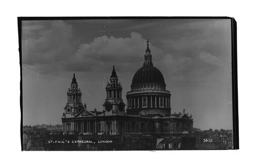 St Paul's Cathedral.