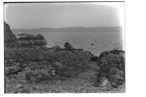 Cove, ?Achway Point, Loch Ewe, Ross-shire.