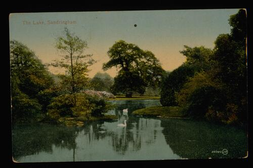 The Lake, Sandringham.