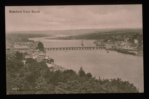 Bideford from South.