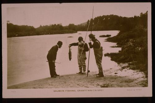 Salmon Fishing, Grantown on Spey