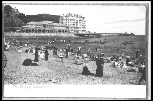 The Beach, Llandudno.