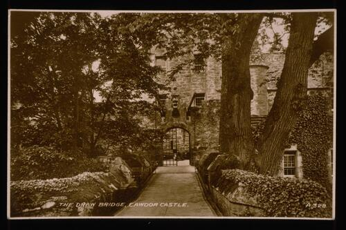 The Draw Bridge, Cawdor Castle.
