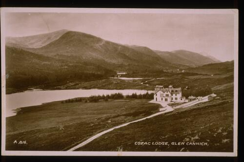 Cozac Lodge, Glen Cannich.
