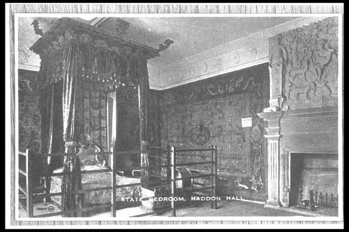 State Bedroom, Haddon Hall.