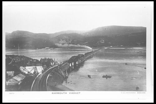 Barmouth Viaduct.