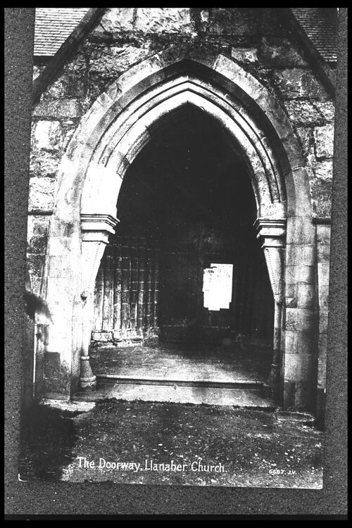 The Doorway, Llanaber Church.