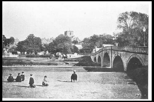 St Asaph's Cathedral and Bridge.