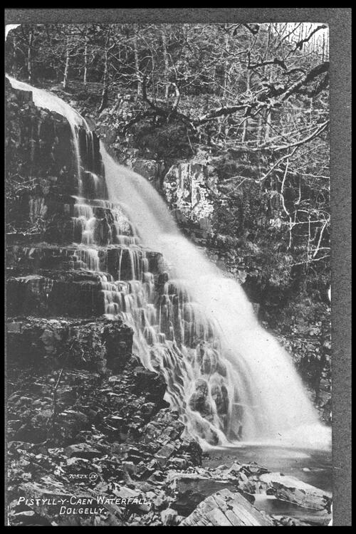 Pistyll-y-Caen Waterfall.