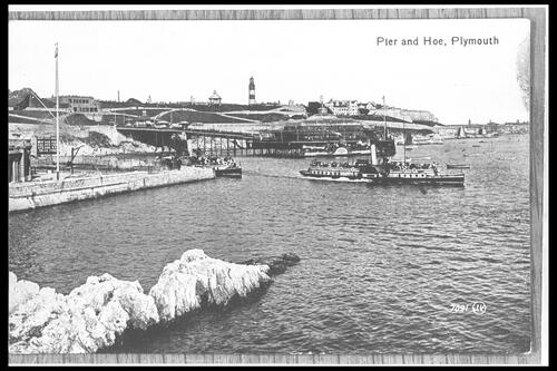 Pier and Hoe, Plymouth.