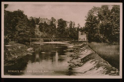 Bongate Mill & Castle, Appleby.