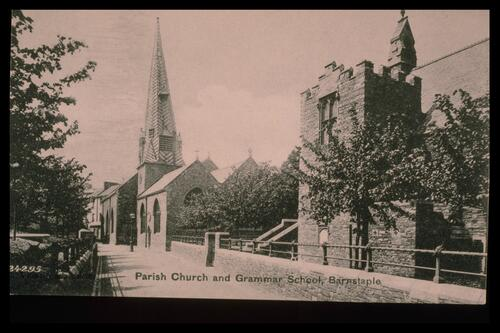 Church and School, Barnstaple.