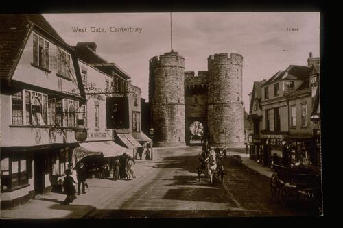 West Gate, Canterbury.
