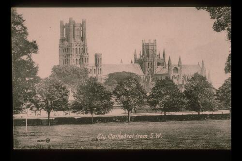 Ely Cathedral from S.W.