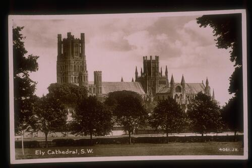 Ely Cathedral, S.W.