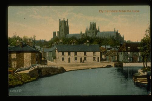Ely Cathedral from the Ouse.
