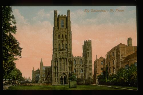 Ely Cathedral: W. Front.