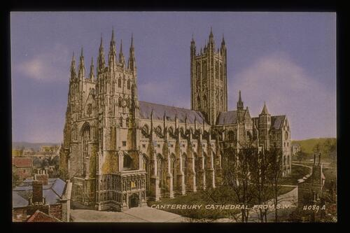 Canterbury Cathedral from S.W.
