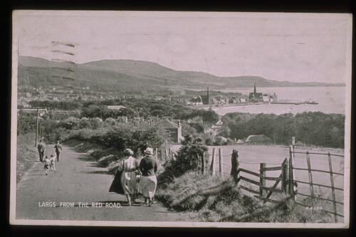 Largs from the Red Road.