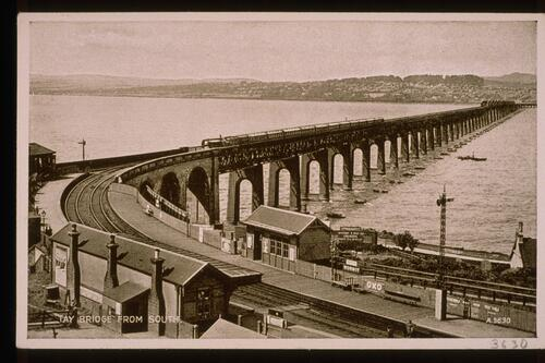 Tay Bridge from South.