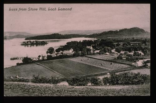 Luss from Stone Hill.