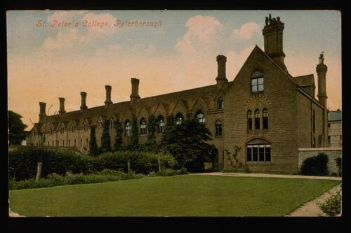 St Peter's College Peterborough.