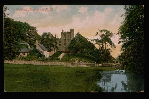 Haddon Hall from S.W.